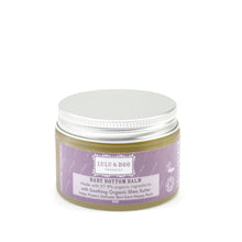 Load image into Gallery viewer, Organic Baby Botton Balm Lulu & Boo - container with silver lid and purple label