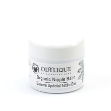 Load image into Gallery viewer, Odylique Organic Nipple Balm; white container with black writing