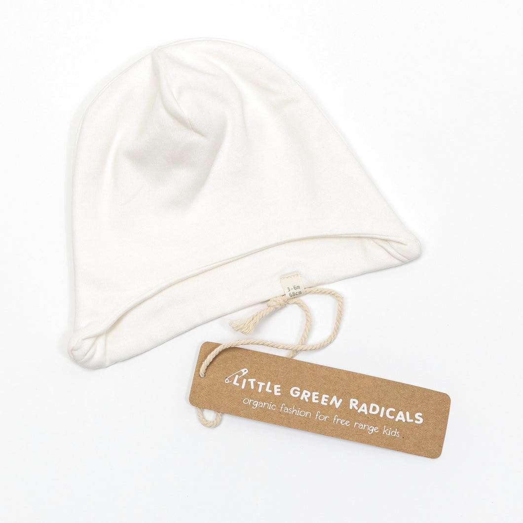 Organic Cotton Baby Cap (0-3m)