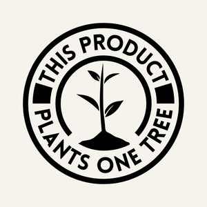 One Tree Planted Logo - This product plants one tree