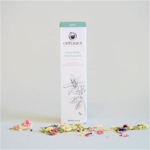 Odylique Lemon Butter Hand Smoothie Organic in White and Green Box