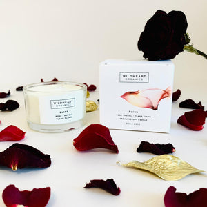 Wildheart Organics Bliss Valentine's Day Candle