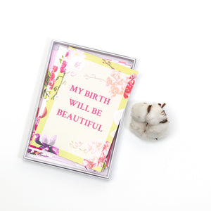 Amala Curations Set of 15 Pregnancy & Birth Affirmation cards