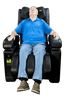 Image of Luraco Sofy Commercial Massage Chair Made in America - Puretech Massage Chairs