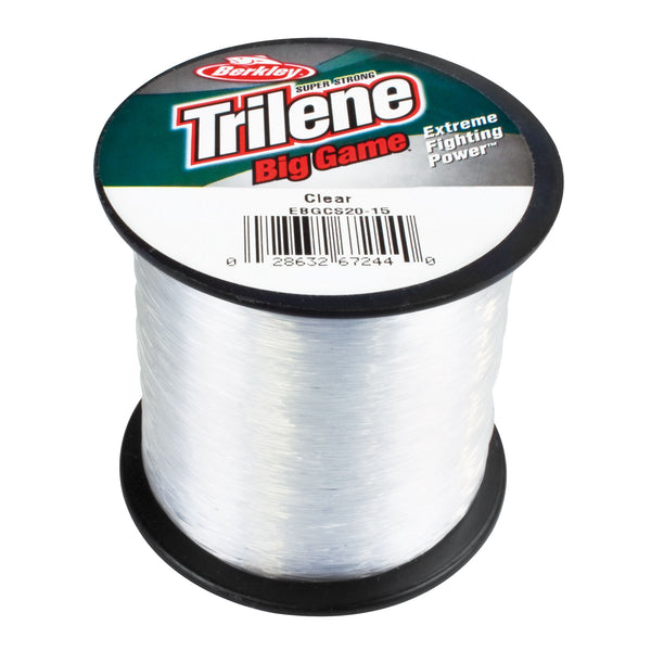 Trilene Big Game 1/4 Lb Spole 0 30mm  Clear