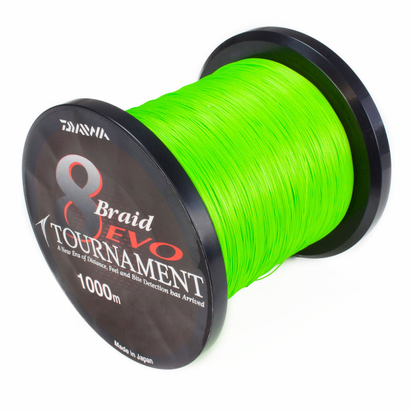 Tournament 8 Braid Evo 0.08mm  Fra Bulkspole