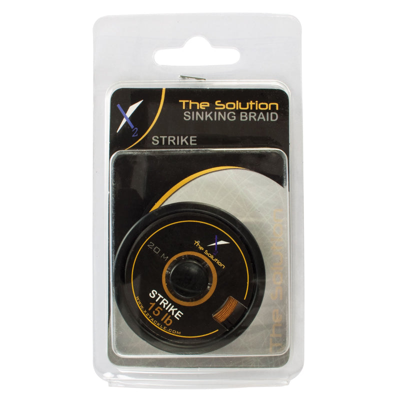 The Solution Forfangsline Strike Synkende Braid Muddy Brun 20m