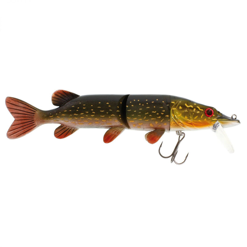 Mike the Pike Real Swimbait Slow Sinking Metal Pike 17cm 42g