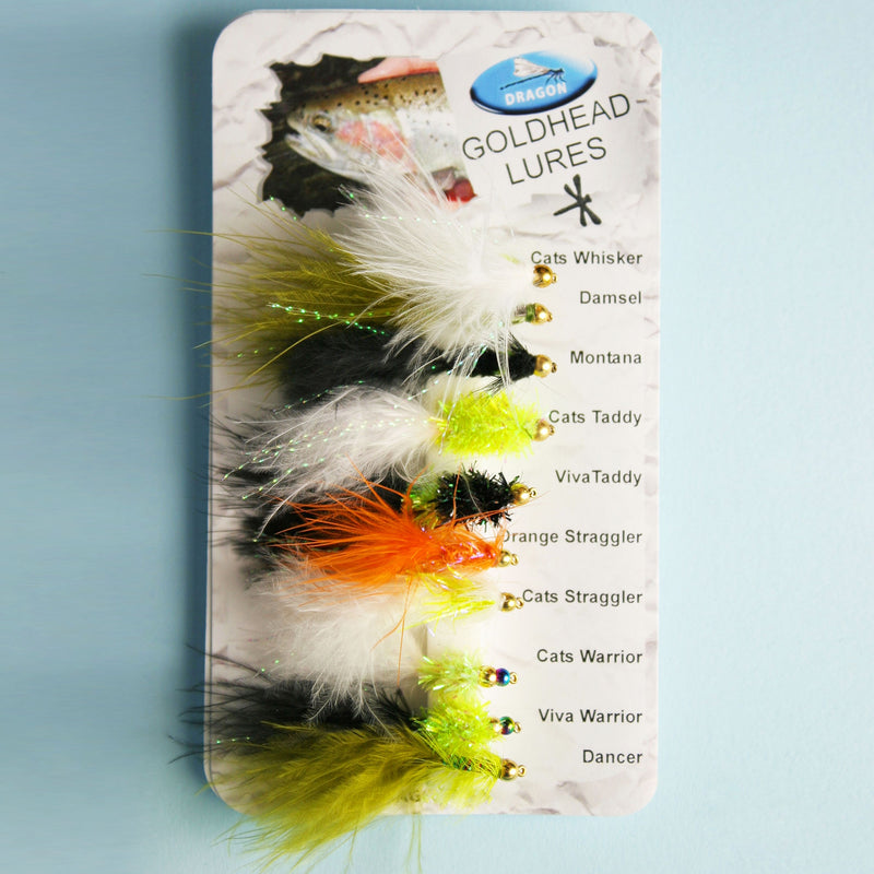 X-Version Fly Fluesæt Guldhead LURES