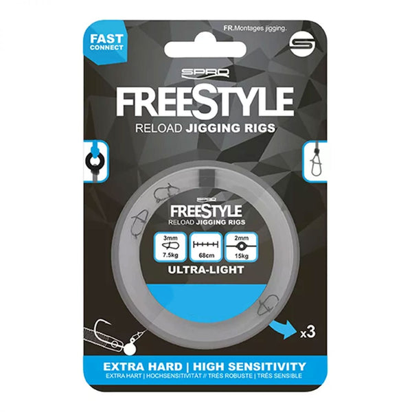 Spro Freestyle Reload Jigging Rig
