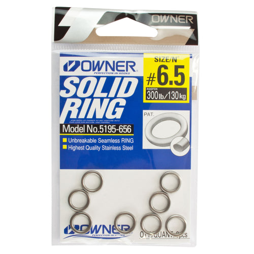 Owner Solid Ring Stainless Steel 5195-656 Str. 6,5 130Kg