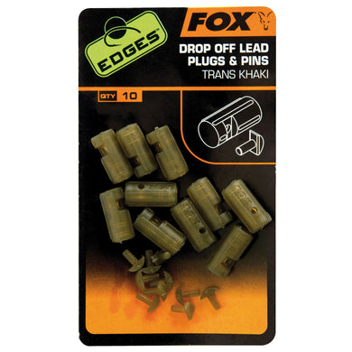 Fox Edges Drop Of Lead Plug And Pins