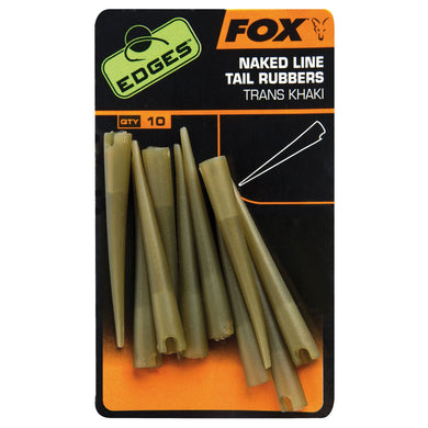 Fox Edges Naked Line Tail Rubbers X 10pcs