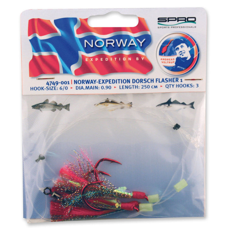 Spro Norway Expedition Norway Expedition Torsk Flasher 1 Rig