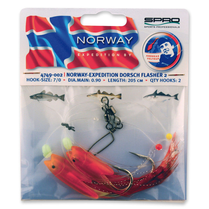 Norway Expedition Dorsch Flasher 2 Rig