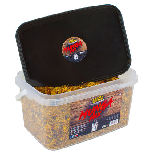 Crafty Catcher Big Hit Mixes Munga Mix 3kg