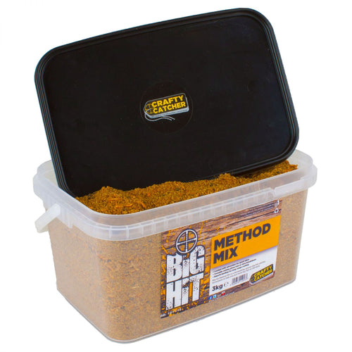 Crafty Catcher Big Hit Mixes Method Mix 3kg