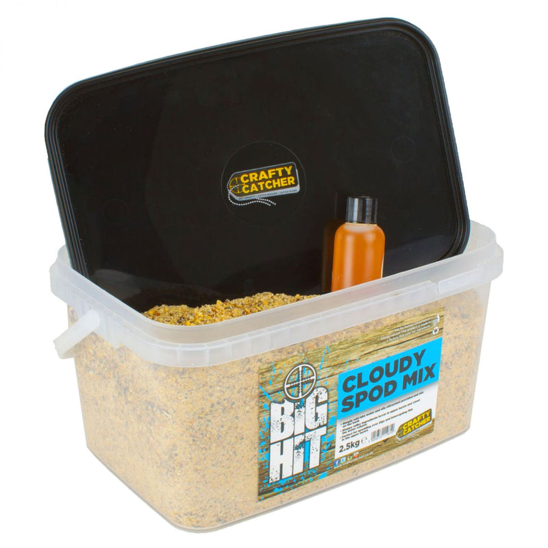 Crafty Catcher Big Hit Mixes Cloudy Spod Mix (Dry) 2,5kg