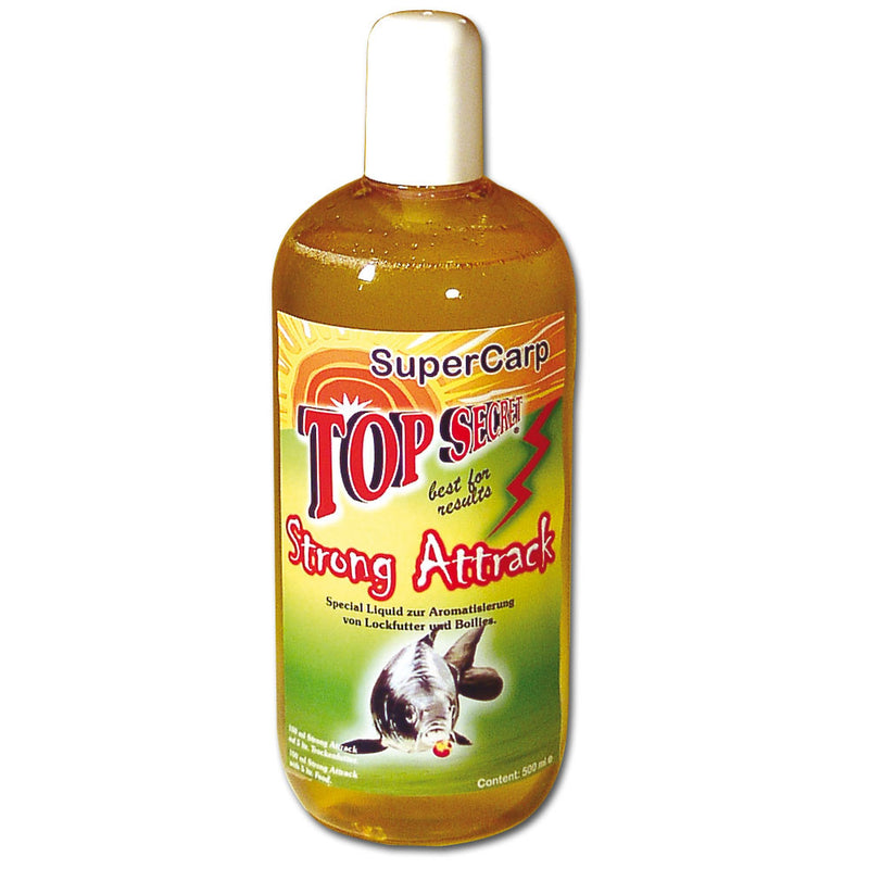 Flüssiglockstoff Strong Attrack Special Liquid 500ml Supercarp (Karpfen)