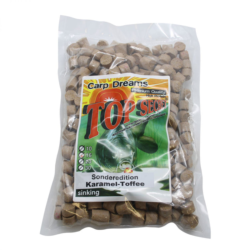 Carp Dream Pellets Karamell-Toffee 1kg