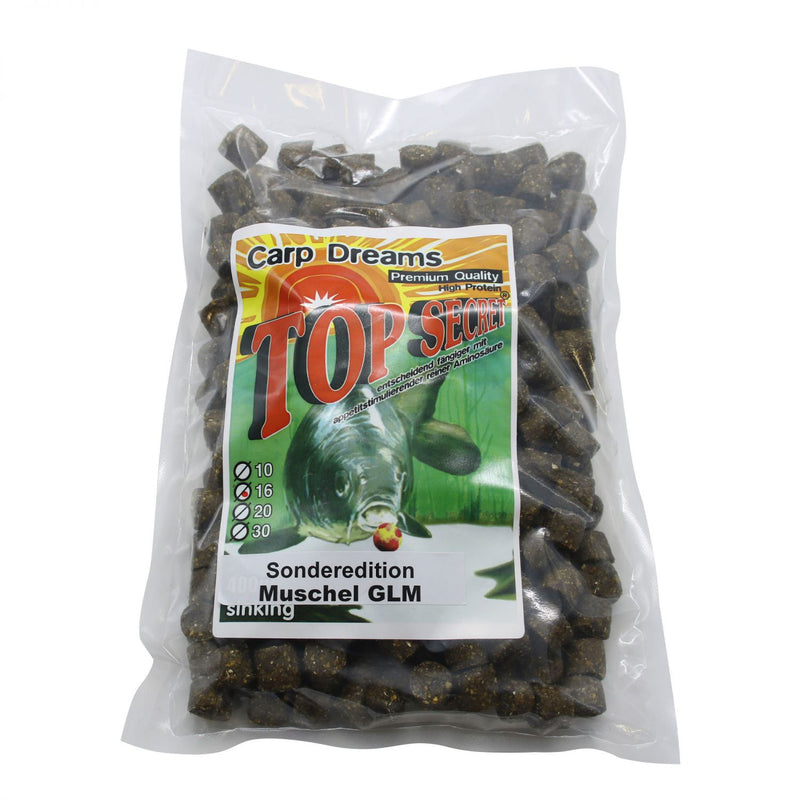 Carp Dream Pellets Muschel/GLM 1kg