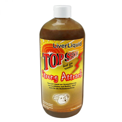 Top Secret Flydendelokkemiddel Strong Attrack Special Liquid 500ml Liverliquid (Lever)