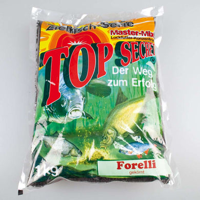 Top Secret Forelli Granuleret (Ørred Pellets) 1Kg