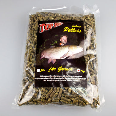 Top Secret Natural Græskarpe Pellets 8mm 1Kg