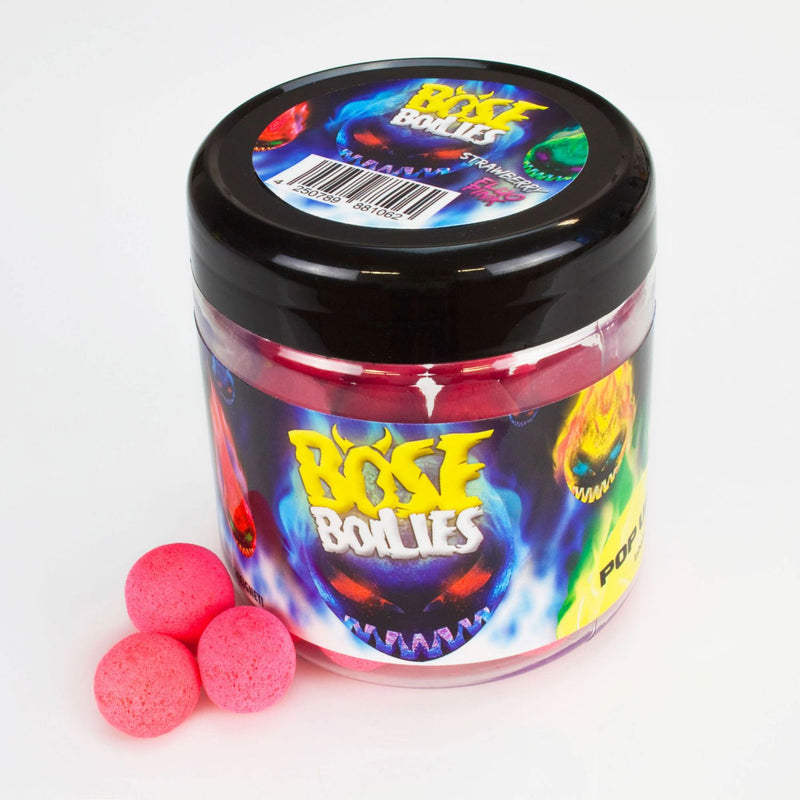 Böse Boilies Pop Ups 50g Strawberry (fluo pink)