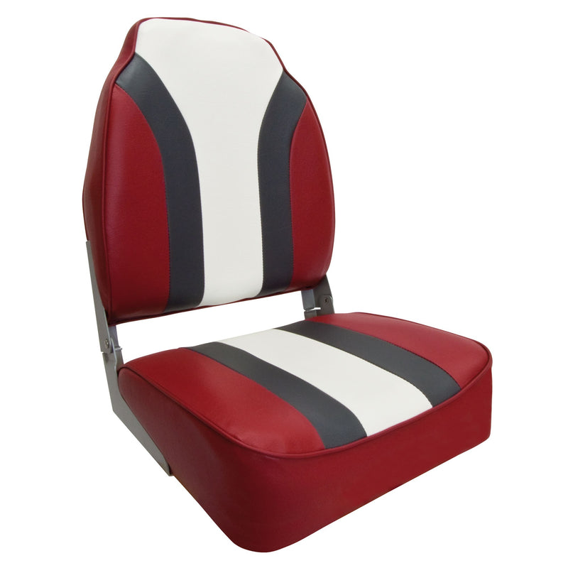 Waterside High Back Pro Bådsæde (Boat Seat) Redline