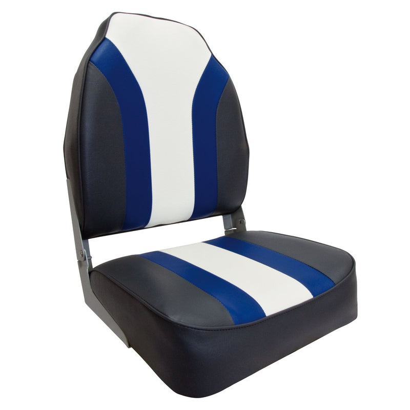 High Back Pro Bootssitz (Boat Seat) Blueline