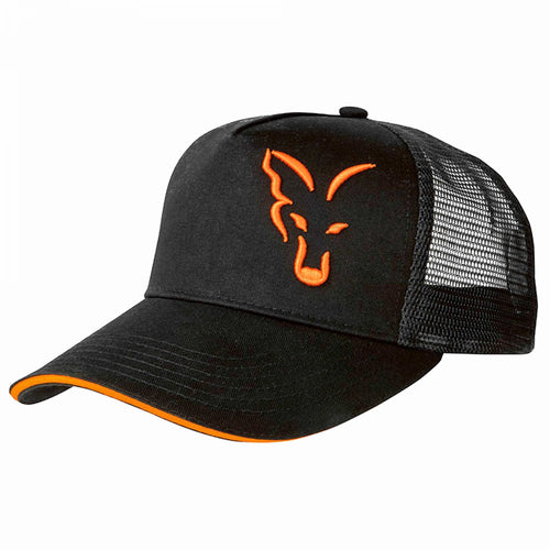 Trucker Cap Black & Orange