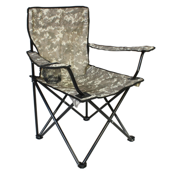 Camou Fishing Chair Med Transport Taske