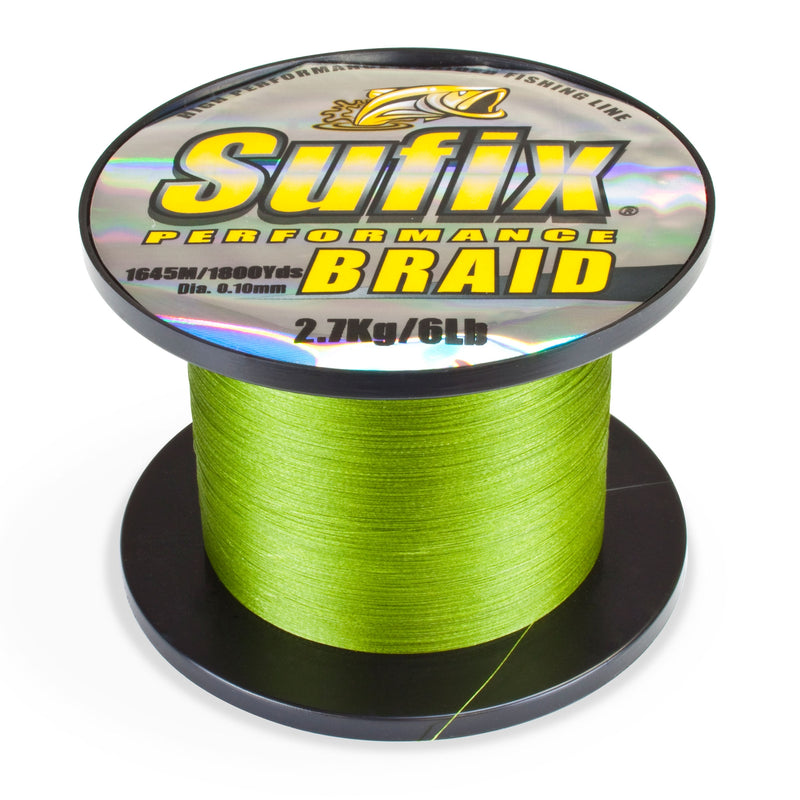 Sufix Perfomans Braid Low Viz 1m