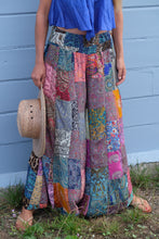 Load image into Gallery viewer, Peacock Ore Patchwork Pants