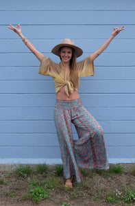 Aventurine Straight-Legged Pants (Available in Multiple Colors)