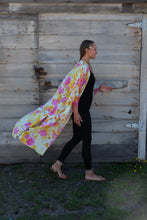 Load image into Gallery viewer, Indigo Gabbro Convertible Kimono