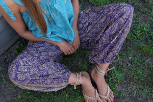 Celestite Harem Pants