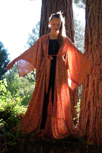 Goldstone Long Kimono with Belt (Available in Multiple Colors)