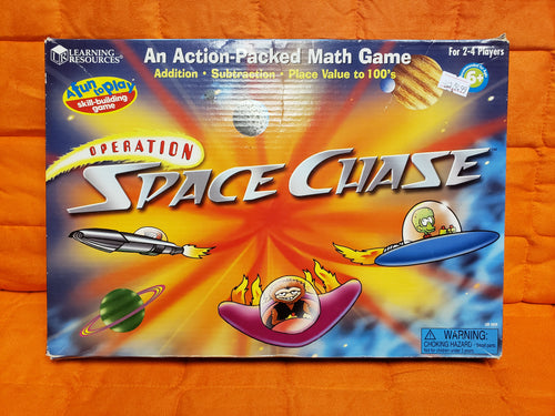 Space Chase Board Game Learning Resources