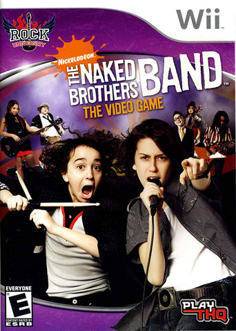 Wii The Naked Brothers Band