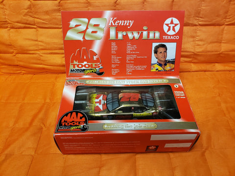 1998 Mac Tools Kenny Irwin #28 Gold Texaco Ford Taurus Limited Edition 2085 of 4000 made