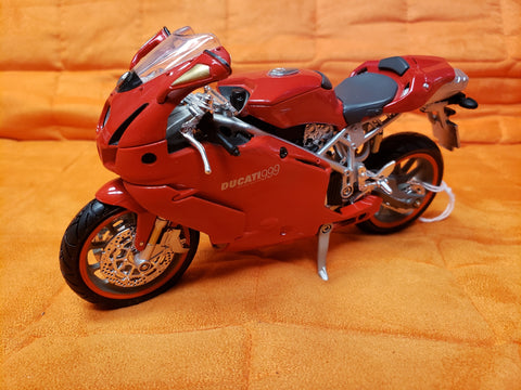 "6"" Diecast Motorcycle Red"