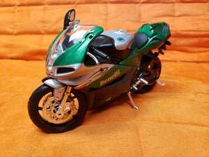 "6"" Diecast Motorcycle Green"