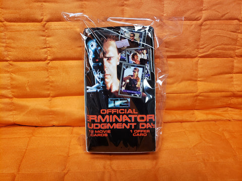 1991 Official Terminator Judgment Day Trading Cards boxed