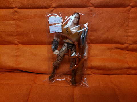 "1995 5"" Hercules The Legendary Journey Toy Biz Action Figure, Hercules II Archery Combat Set No. 41002"