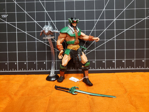 2001 Masters of the Universe MOTU Triclops