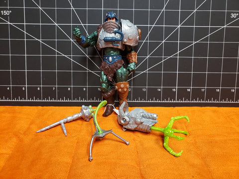 2001 Masters of the Universe MOTU Man At Arms