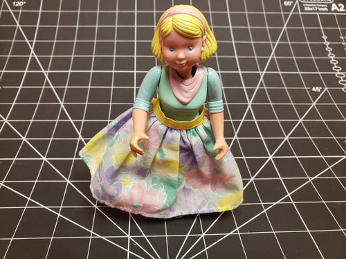 Vintage Fisher Price Doll House Figure