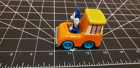 Playskool Furrball diecast Van Tiny Toon Adventures Vintage 1990